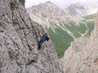 Via ferrata Madonnen Klettersteig