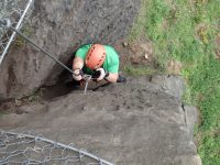 Úklid via ferrat na Pastýřské stěně
