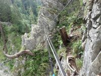Via ferrata Freifall Klettersteig
