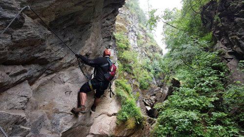 Via ferrata Möllschlucht Klettersteig