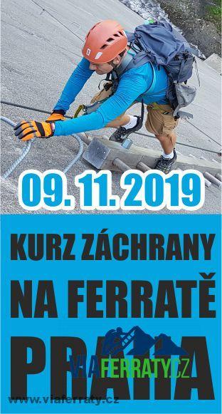 Kurz záchrany na via ferratě - Praha