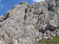 Via ferrata Col Rodella - pod nástupem