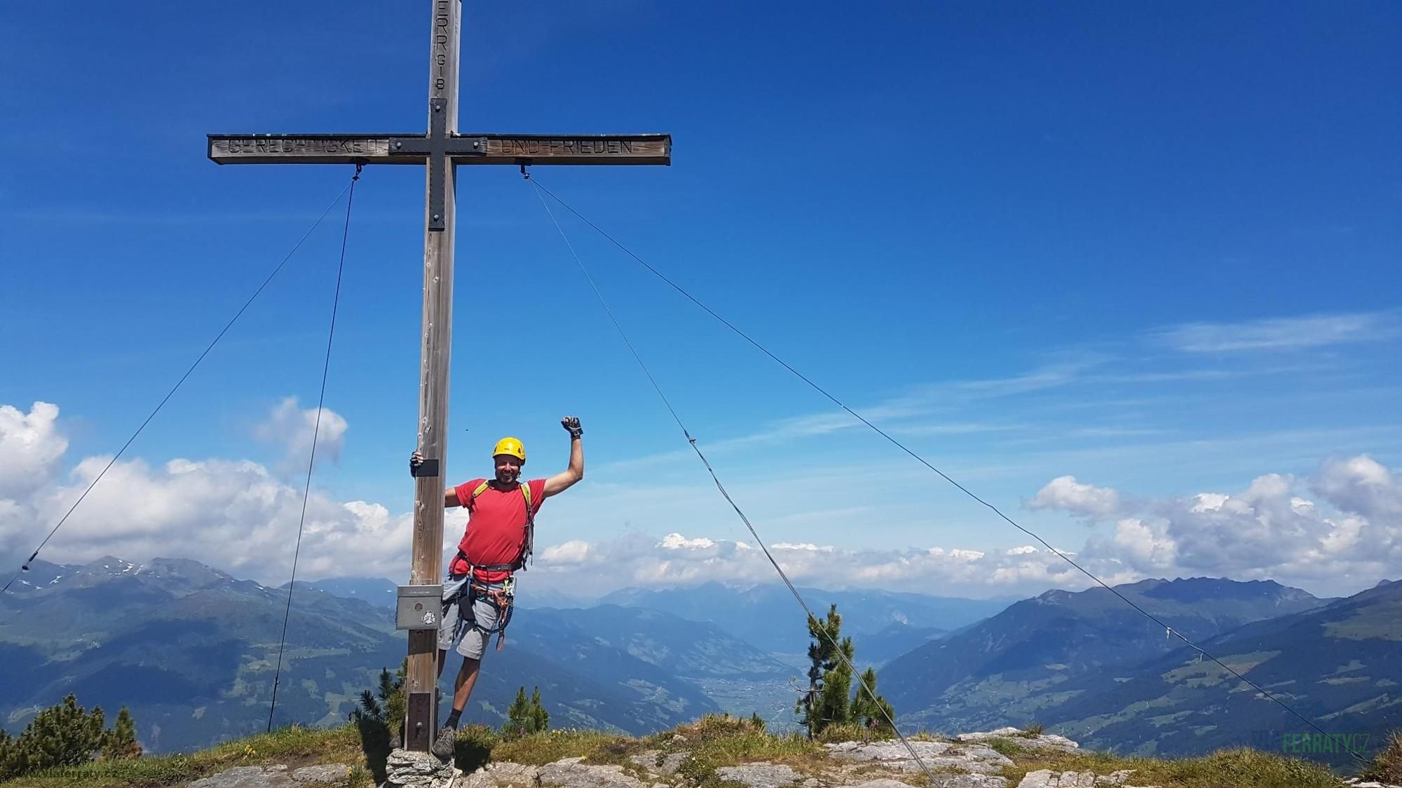 Via ferrata Gerlossteinwand - vrchol