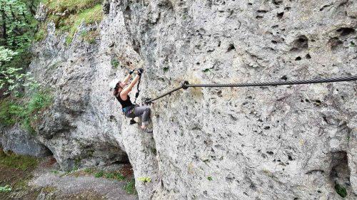 Höhenglücksteig klettersteig