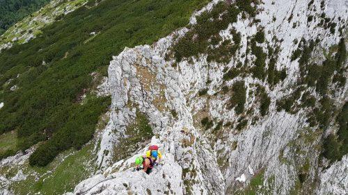Donnerkogel Intersport - téměř na vrcholu