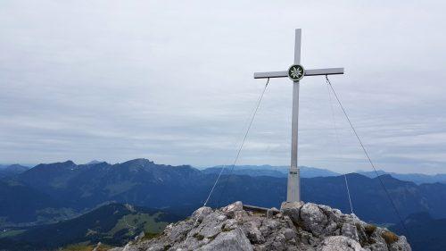 Vrchol Großer Donnerkogel 2050 m