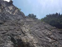 Weiße Wand Klettersteig